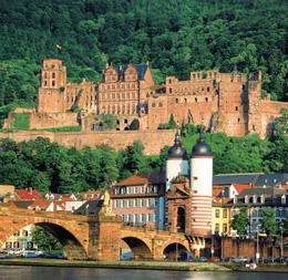 Замок в Хайдельберге
